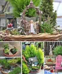 garten dekorieren ideen schockierend 14 fabelhafte miniatur garten dekorieren auf home