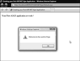 creating your first ajax application getting started with asp