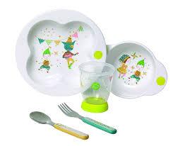 assiette porte verre bébé confort coffret repas étape 3 assiette anti dérapante bol