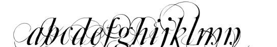 mutlu ornamental font whatfontis