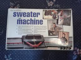 sweater machine alex s machine knitting my bond sweater machine