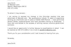 cover letter samples to whom it may concern