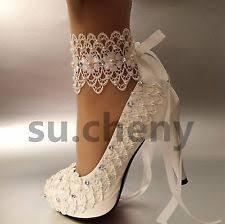 light blue wedding flats 3 4 heel satin white ivory lace pearls open toe wedding shoes