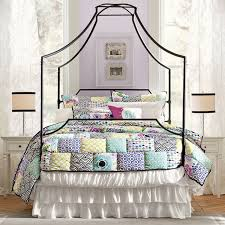 Girls Patchwork Bedding by Abby Floral Patchwork Quilt Sham Pbteen