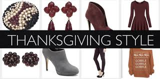 fashion festive thanksgiving style fashion in