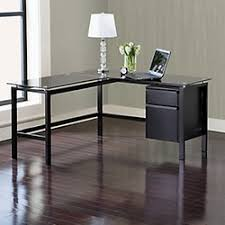 office depot l shaped glass desk corner desk office depot realspace magellan collection l shaped