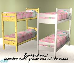 2 Bunk Beds Sims 2 Downloads Bunk Bed