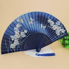 silk fan japanese fans silk folding bamboo fan fans