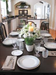 ideas for kitchen table centerpieces home design