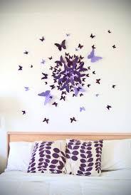 deco papillon chambre décoration papillon chambre galerie et stickers dacoration chambre