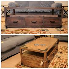 ana white rhyan coffee table with our own twist diy projects
