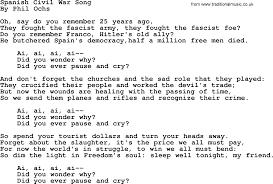 phil ochs song civil war song phil ochs lyrics