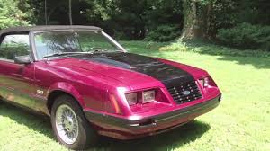 1985 Mustang Convertible 1983 Mustang Gt 5 0 Convertible For Sale Sold Youtube