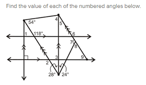 angles in parallel lines miss brookes maths
