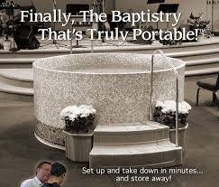 portable baptismal tank church baptistry baptistery heaters portable baptistries