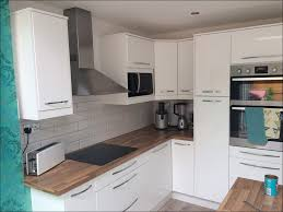 kitchen white cupboard white cabinets with white appliances grey