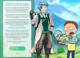 Professor Badass Meme - every time you go to transfer a pokémon to professor willow