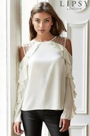 frilly blouse womens ruffle shirts ruffle tops official site
