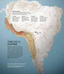 Geographical Map Of South America Inca Empire Interactive Map Pictures More From National