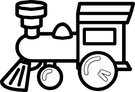 one toy train coloring page wecoloringpage