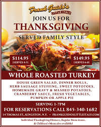 thanksgiving dinner for 8 happy thanksgiving call us for reservations little italy