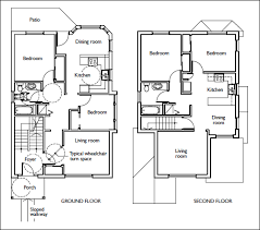 Sample Floor Plan For House Residential House Floor Plan With Dimensions Home Deco Plans