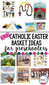 catholic easter basket ideas for preschoolers sara j creations