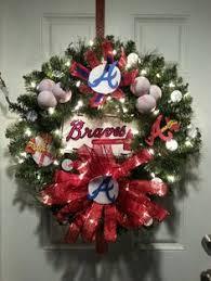 atlanta braves ornament baseball done right
