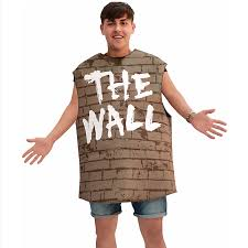 wall costume from party city gets slammed online teen vogue
