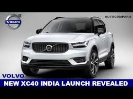 volvo official website revealed all new volvo xc40 india launch revealed listed on