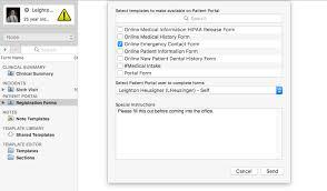 ehr assign registration forms u2013 macpractice
