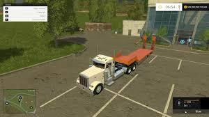 peterbilt and kenworth 2007 peterbilt 379 daycab truck v2 0 farming simulator 2015 15 mod