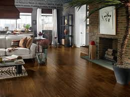 Laminate Wooden Floor Wood Flooring In The Basement Hgtv