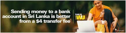 send money to sri lanka western union online
