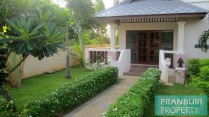 absolute beach front 4 bedroom house in kuiburipranburi property com