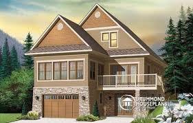 front sloping lot house plans sloped lot house plans hillside home plans at eplans floor plan