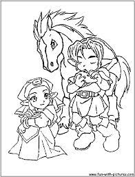 zelda coloring page zelda coloring pages classic video game party pinterest
