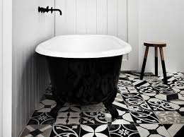 20 black and white bathroom floor tile design flooring ideas