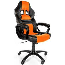 fauteuil de bureau orange siège gamer arozzi monza orange caron informatique calais