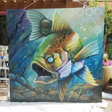 Airbnb Florida by Walls Murals Artist Cass Womack