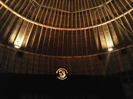 the stage from our seat picture of the round barn theatre at