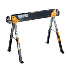 Home Depot Price Adjustment by Toughbuilt 32 In Tall Adjustable Folding Sawhorse Tb C700 The