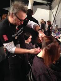 the angel sanchez nyfw 2014 show hair makeup nails by the
