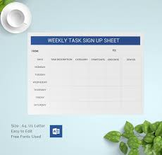 sign up sheets 60 free word excel pdf documents download