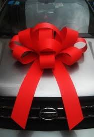 big bow for car present this big bow big car bows