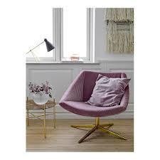 Armchair Velvet Bloomingville Vintage Armchair In Pink Velvet And Gold Metal
