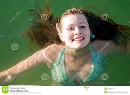young teen swimming in water stock images image 29214124