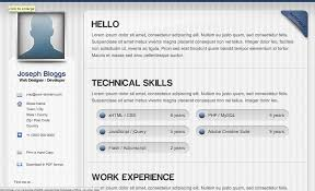 Completely Free Resume Templates Html Resume Templates