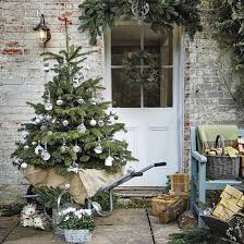 how to decorate the exterior of your home for christmas ideal home