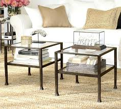 Pottery Barn Griffin Coffee Table Pottery Barn Coffee Table On Wheels Bullock Cart Wheel Coffee